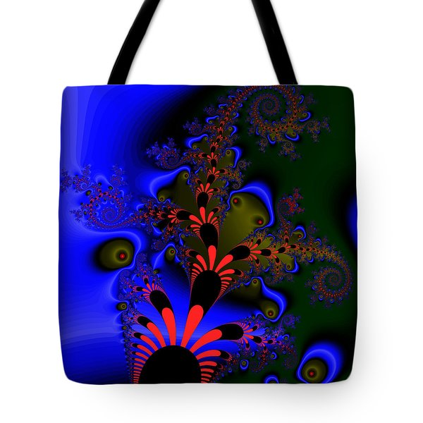 Tote Bag featuring the digital art Diesseogge by Andrew Kotlinski