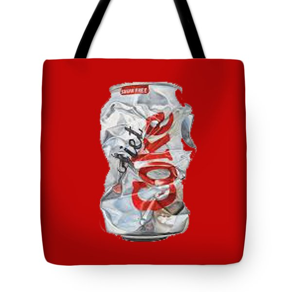 Diet Coke T-shirt Tote Bag