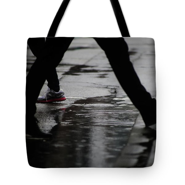 Tote Bag featuring the photograph different Directions  by Empty Wall