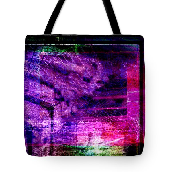 Tote Bag featuring the digital art Different Paths by Art Di