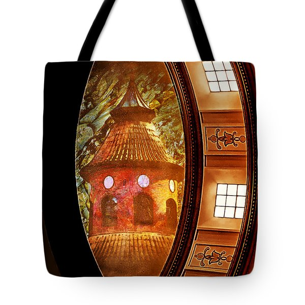 Tote Bag featuring the photograph Different Perspectives by Joseph Hollingsworth