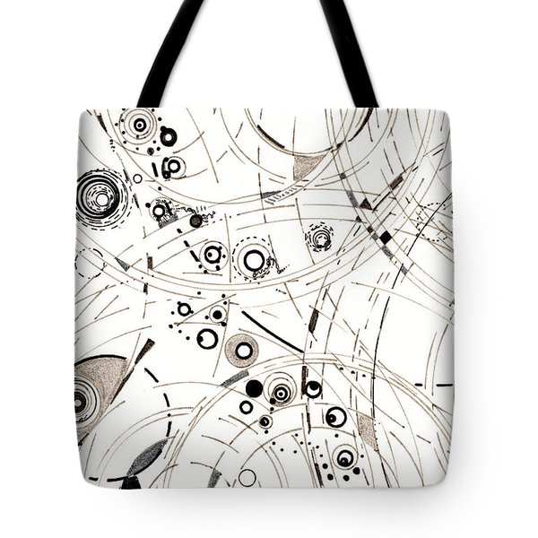 Diffracting Around Tote Bag