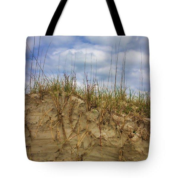 Digging In Deep In Sand Dunes Tote Bag