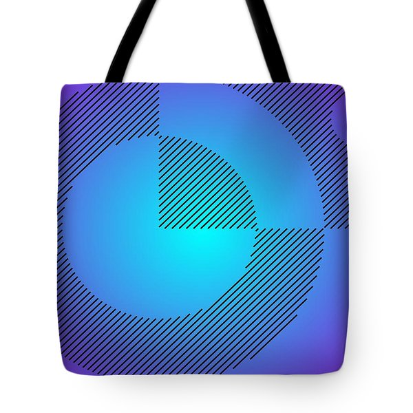 Digital Abstract Art 001 A Tote Bag by Larry Capra
