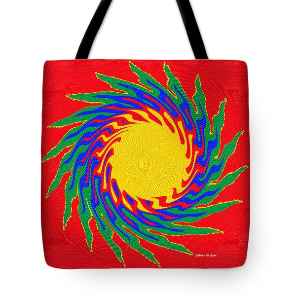 Tote Bag featuring the photograph Digital Art 8 by Suhas Tavkar