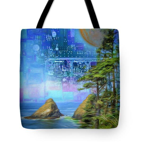 Digital Dream Tote Bag