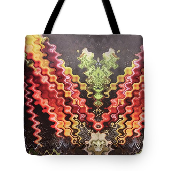 Tote Bag featuring the digital art Digital Fineart Graphics Based On Vegetables Salads Kitchen Chef Cuisine Food Christmas Birthday Mom by Navin Joshi