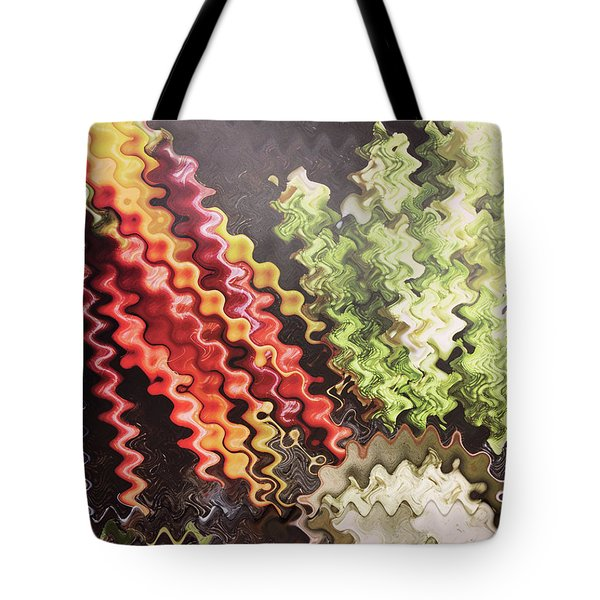 Tote Bag featuring the painting Digital Graphic Art Based On Veggie Salad Photography Christmas Holidays Festivals Birthday Mom Dad  by Navin Joshi
