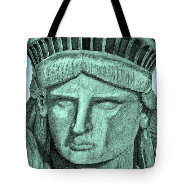 Digital Libby Tote Bag
