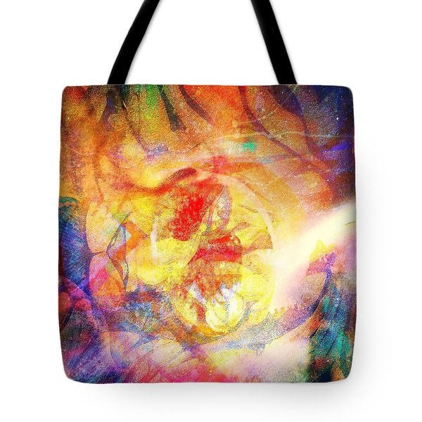 Digitally Different Tote Bag by Fania Simon