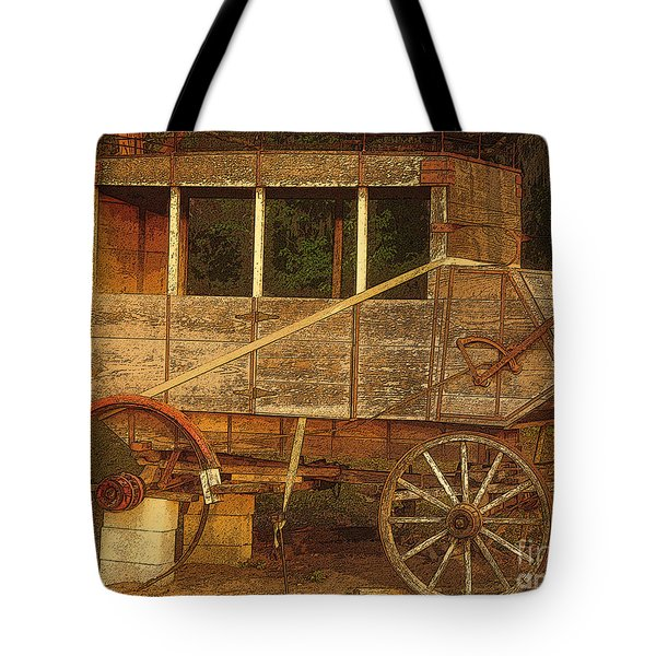 Dilapidated Tote Bag by David Lee Thompson
