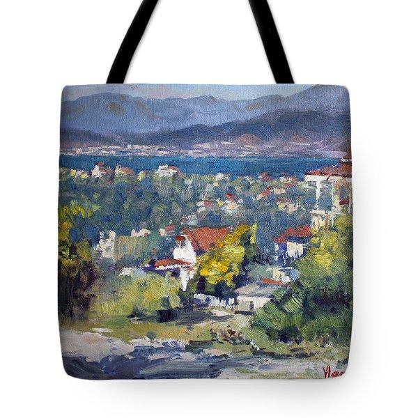 Dilesi Village Athens Tote Bag