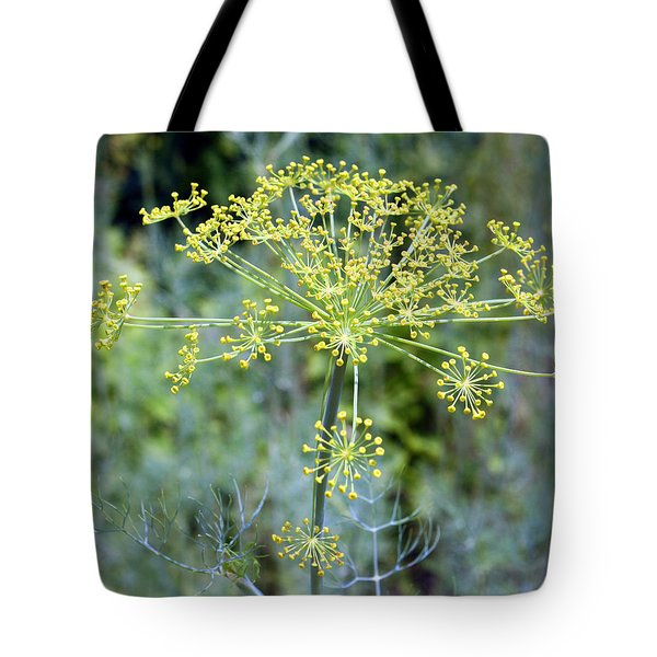 Tote Bag featuring the photograph Dill by Ellen Tully