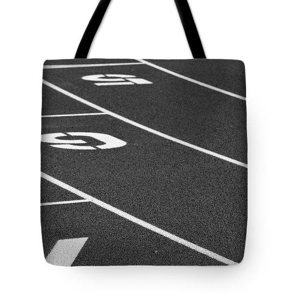 Dimensional Curve Tote Bag by Laddie Halupa