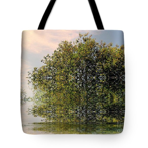Dimensional Tote Bag by Elfriede Fulda