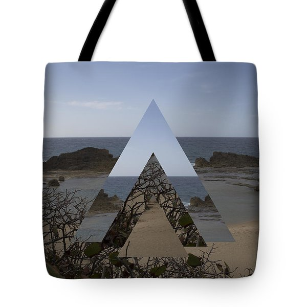Dimensional Rift. Tote Bag by Ismael Marte Ramos