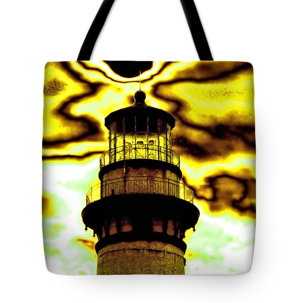 Dimensional Transfer Station Tote Bag by Bob Wall