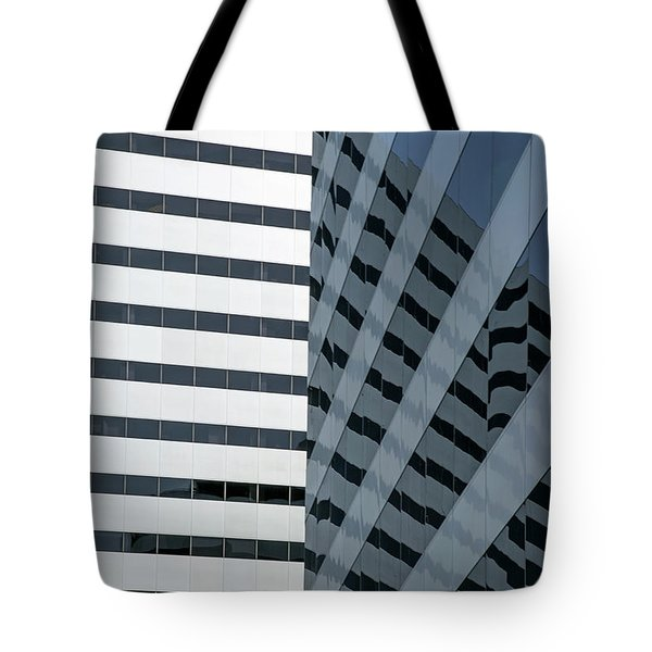 Tote Bag featuring the photograph Dimensions by Elvira Butler