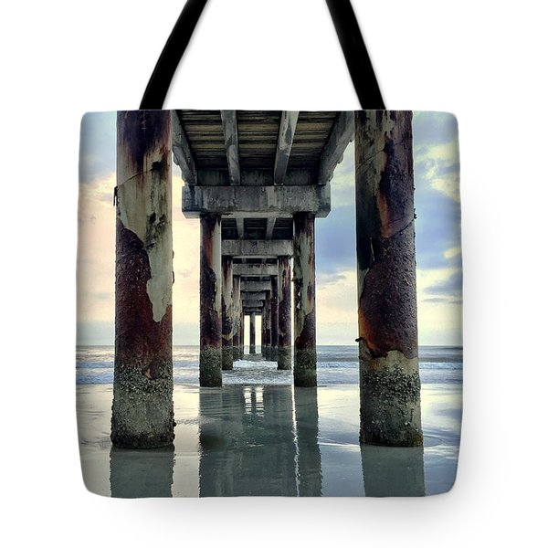 Tote Bag featuring the photograph Dimensions by LeeAnn Kendall