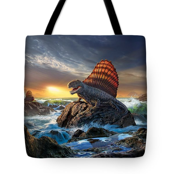 Dimetrodon Tote Bag