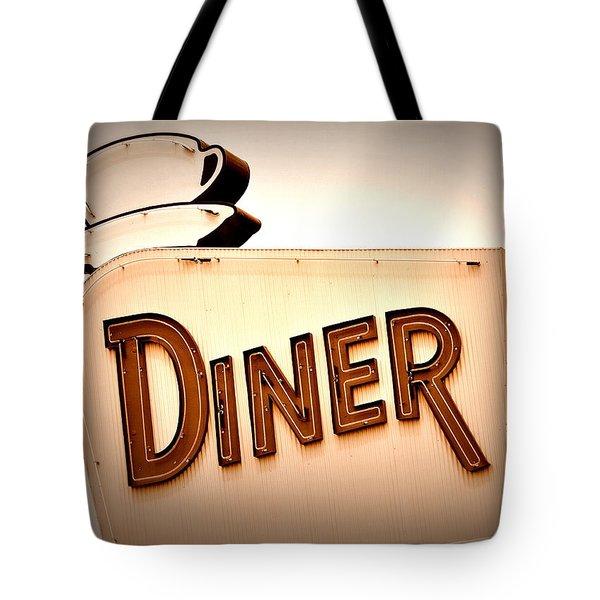 Diner Tote Bag