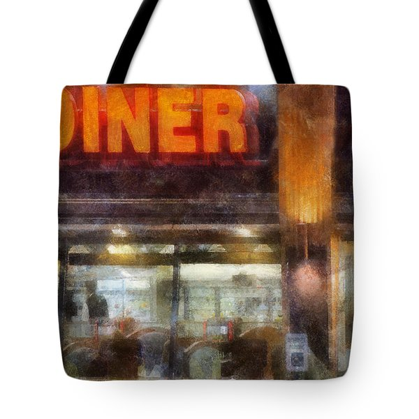 Diner Tote Bag by Francesa Miller
