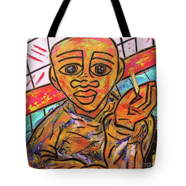 Diners At The Bar Tote Bag