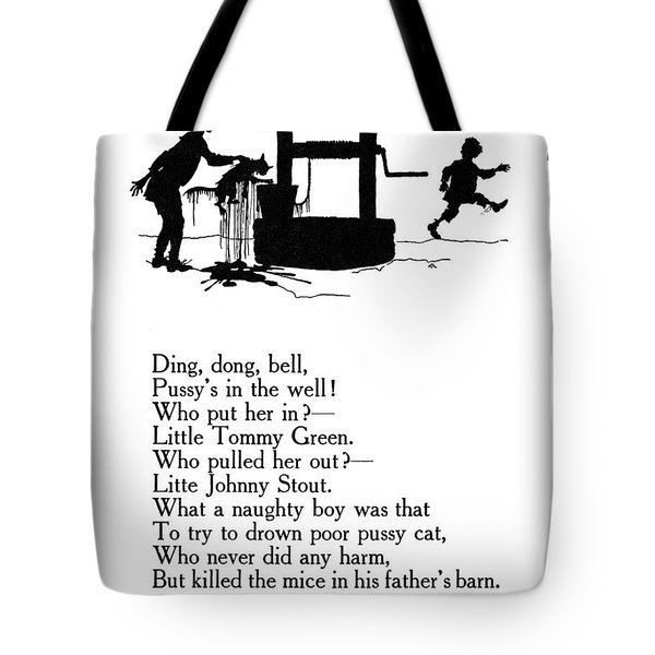 Ding, Dong, Bell Tote Bag by Granger