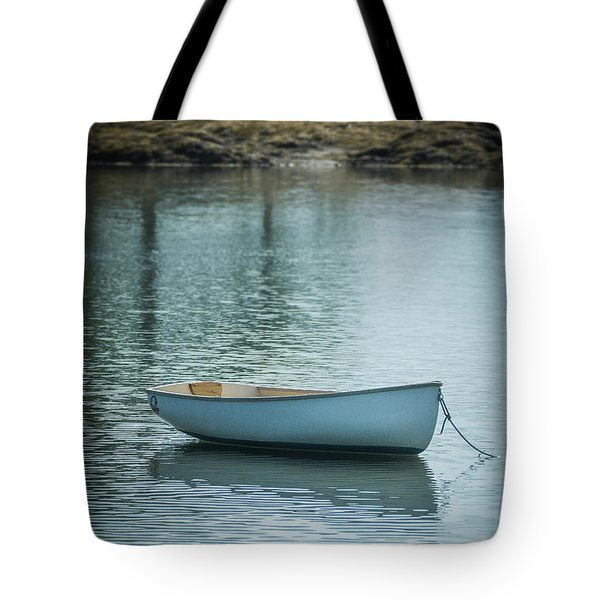 Tote Bag featuring the photograph Dinghy by Guy Whiteley