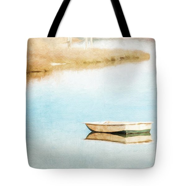 Dinghy In Eastham Tote Bag