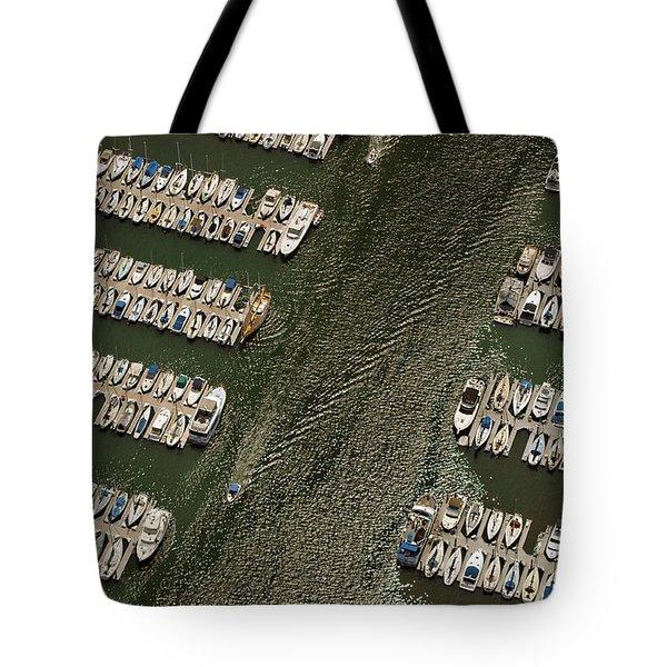 Dingy Ride Tote Bag