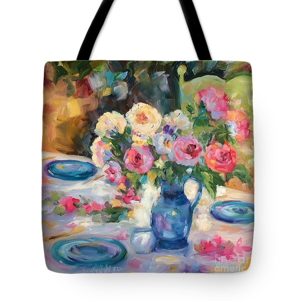 Dining Alfresco Tote Bag
