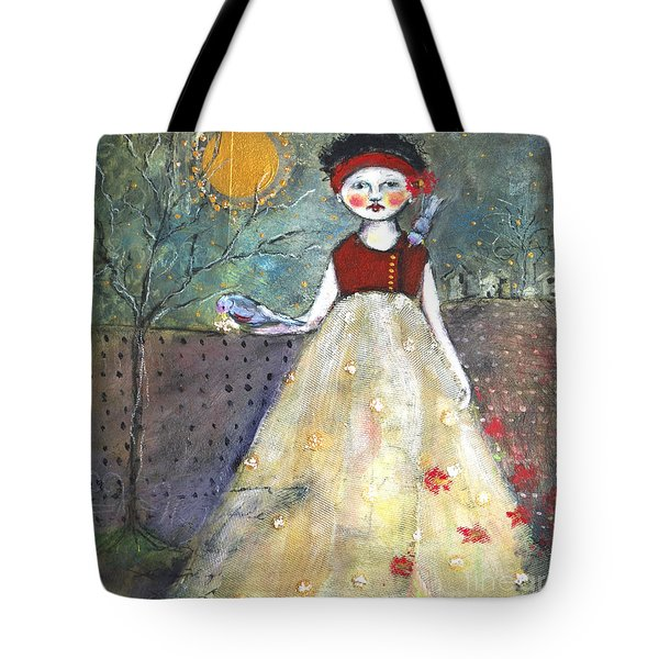 Dining By Midnight  Tote Bag