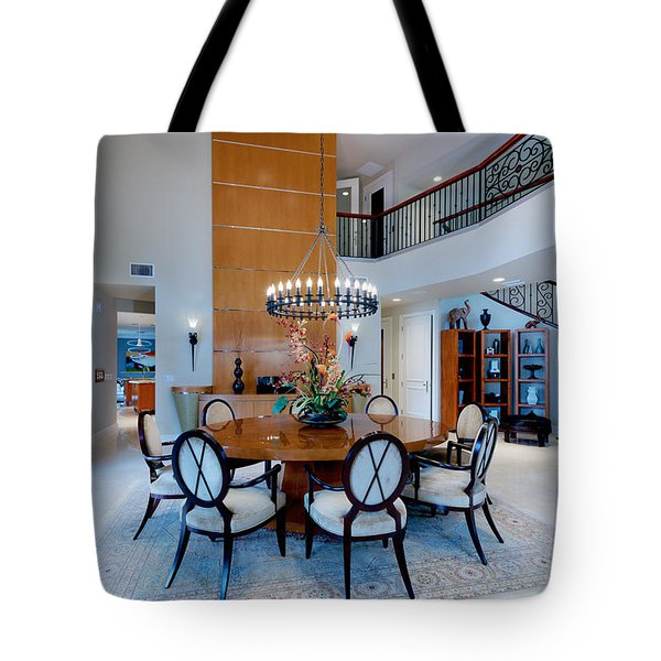 Dining In The Round Tote Bag