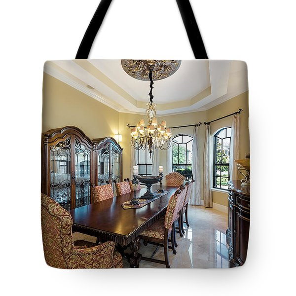 Dining Tote Bag