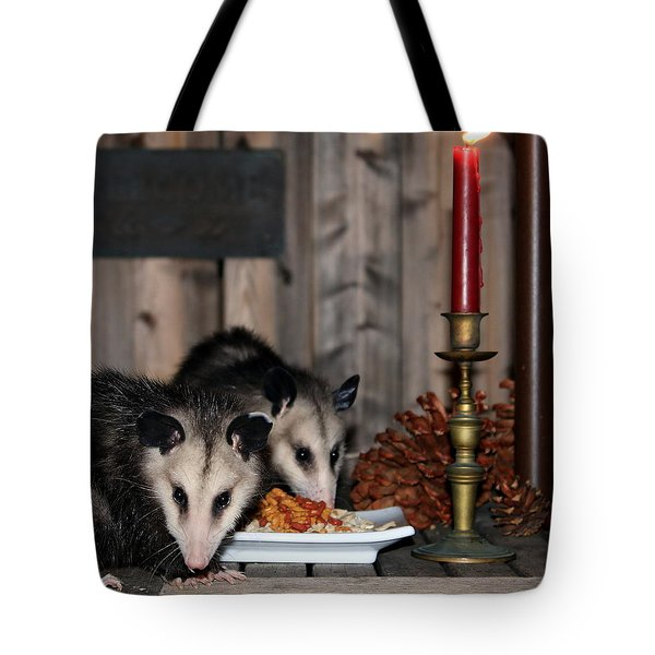 Dining Possums IIi Tote Bag