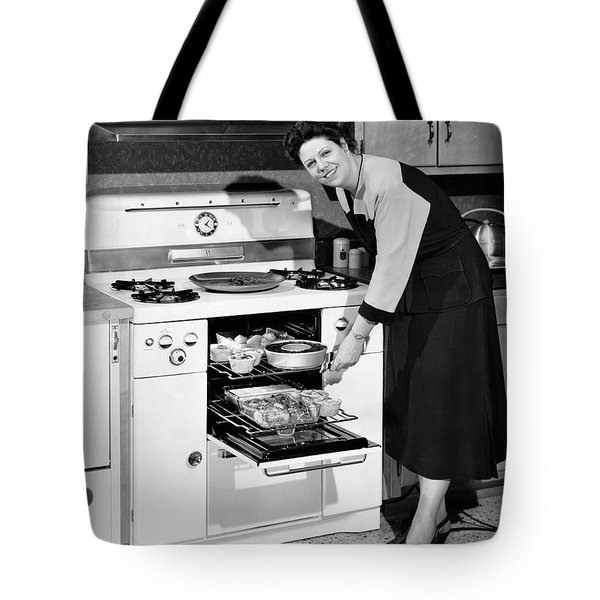 Dinner In The Oven Tote Bag