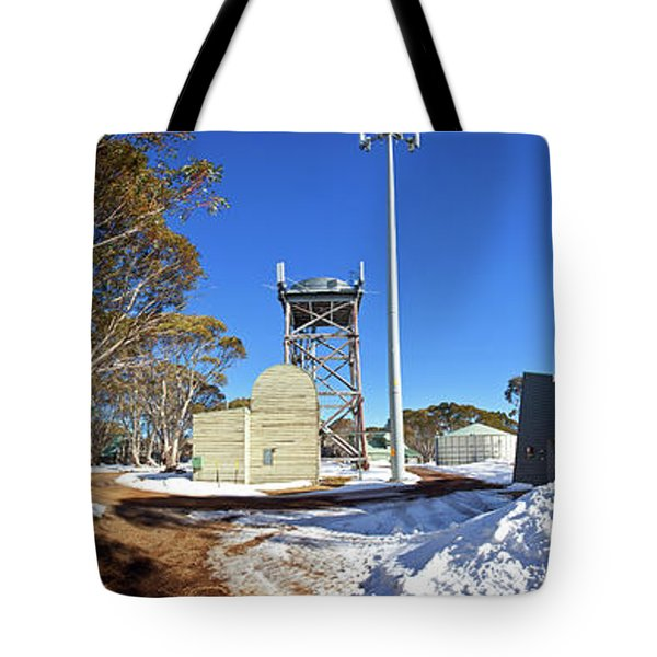Tote Bag featuring the photograph Dinner Plain Cfa by Bill Robinson