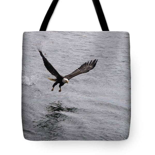 Dinner? Prince Rupert Eagle  Tote Bag