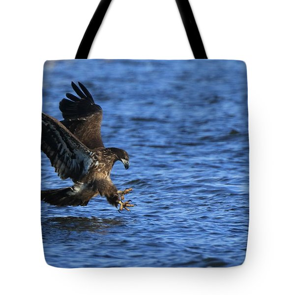 Tote Bag featuring the photograph Dinner Run by Coby Cooper