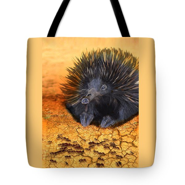 Dinner Time Tote Bag by Holly Kempe