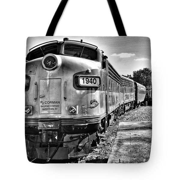 Dinner Train Tote Bag