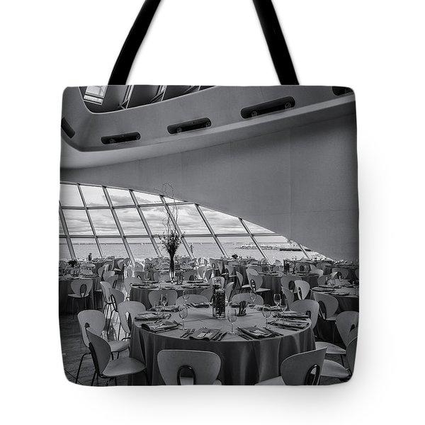 Dinner View Tote Bag