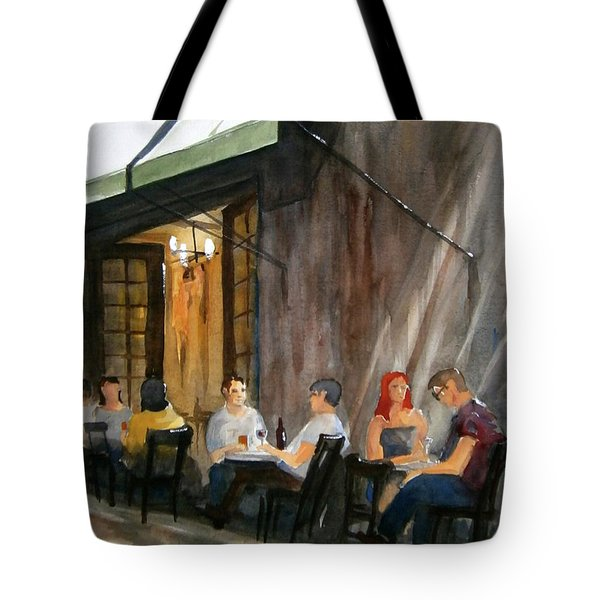 Dinning L'fresco Tote Bag