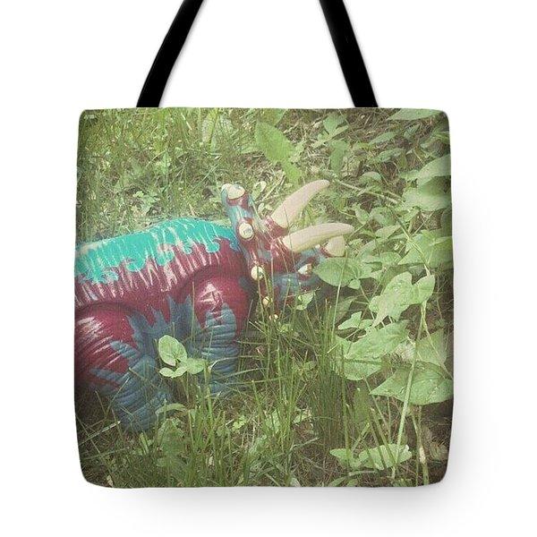 Dino Hide Tote Bag