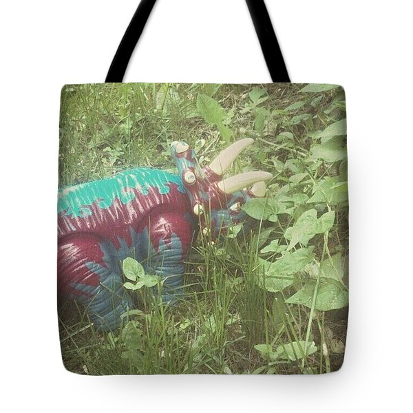 Dino Hide Tote Bag