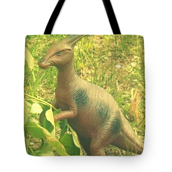 Dino Lerk Tote Bag
