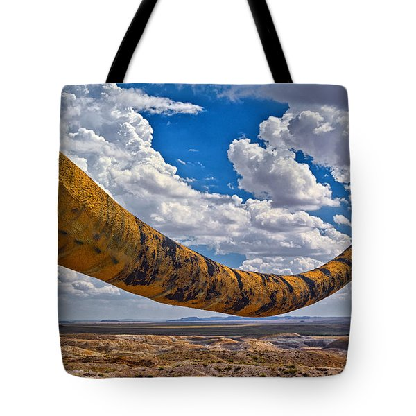 Dinosaur Tales Tote Bag by Gary Warnimont