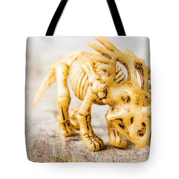 Dinosaurs At The Toy Museum  Tote Bag