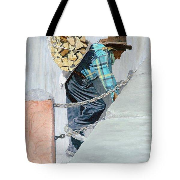 Dios Fortelezca Tote Bag